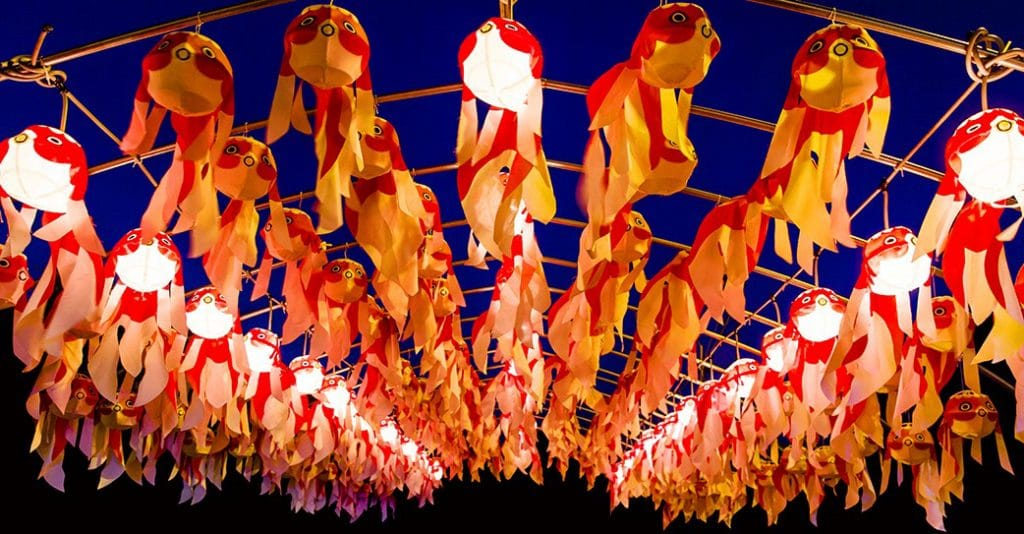 A Japanese Festival Of Light Will Shine On East London This Weekend