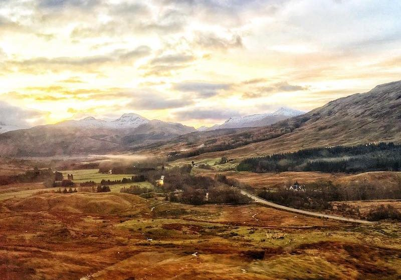 Fall Asleep On This Train From London And Wake Up In The Highlands