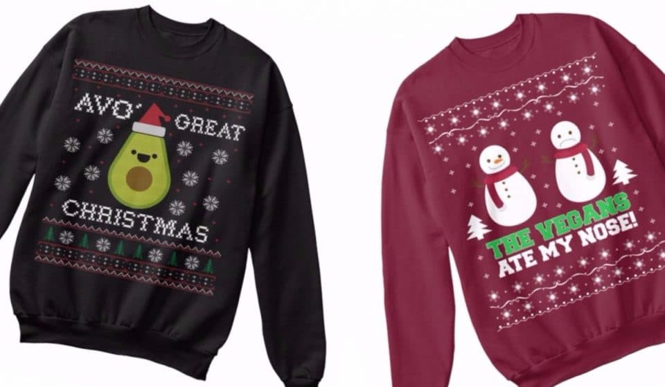 9 Ugly Christmas Jumpers That Vegans Never Knew They Needed