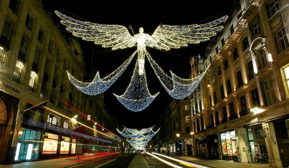 The Regent Street Angels Will Light Up London From Thursday