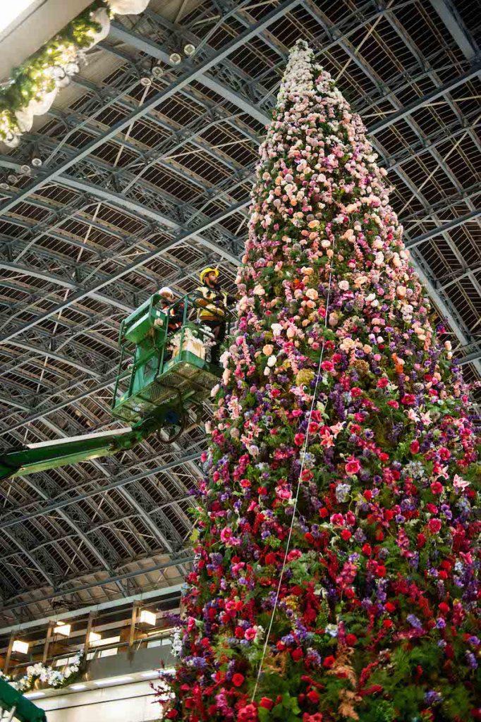St Pancras International Moyses Stevens Christmas Tree_001