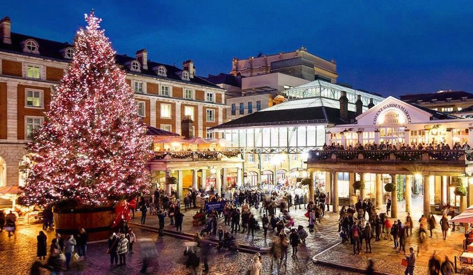 Covent Garden Is Now Home To A Dazzling Christmas Lights Display