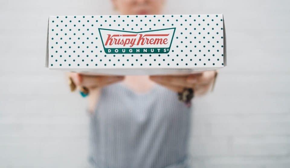 Krispy Kreme Are Giving Away 40,000 Free Doughnuts Today
