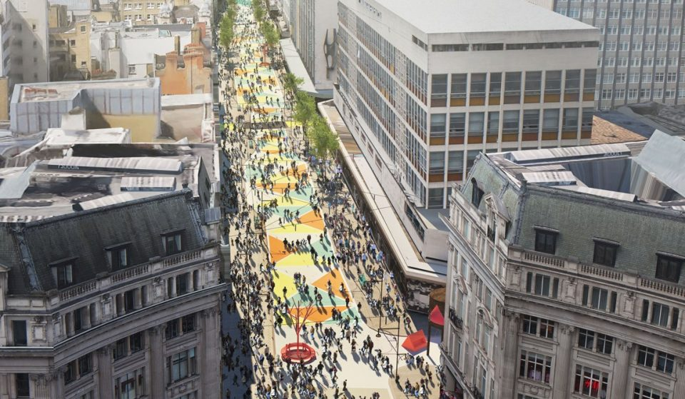 Oxford Street Is Going Car-Free By End Of 2018