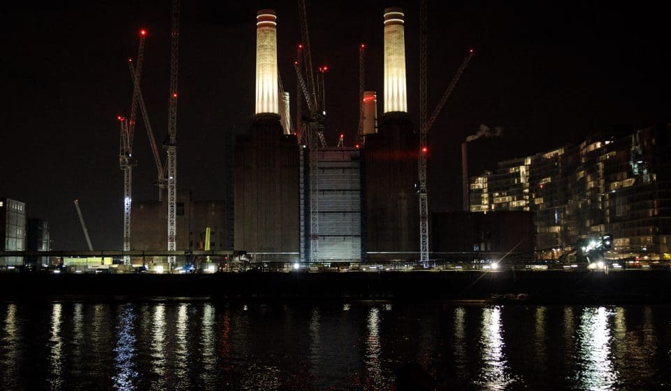 Battersea Power Station Is Getting Lit For Christmas