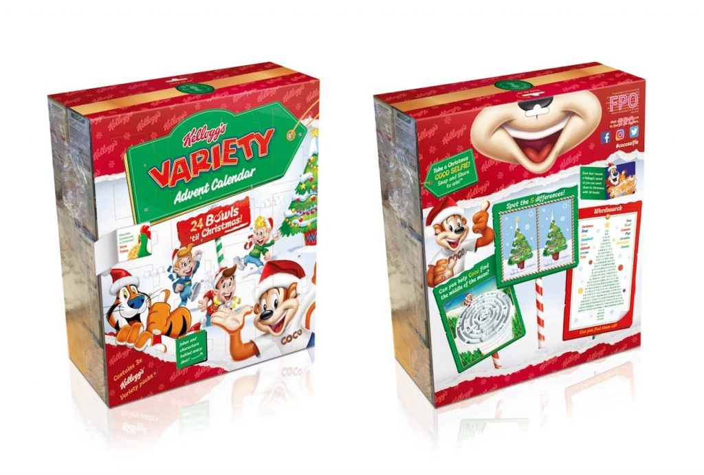 Kellogg's Have Launched A Variety Pack Advent Calendar And We're Feeling Hella Nostalgic