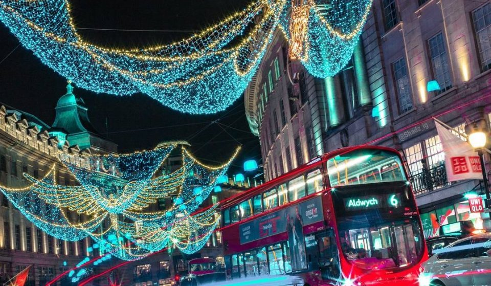 How Can You Travel Around London Over Christmas?