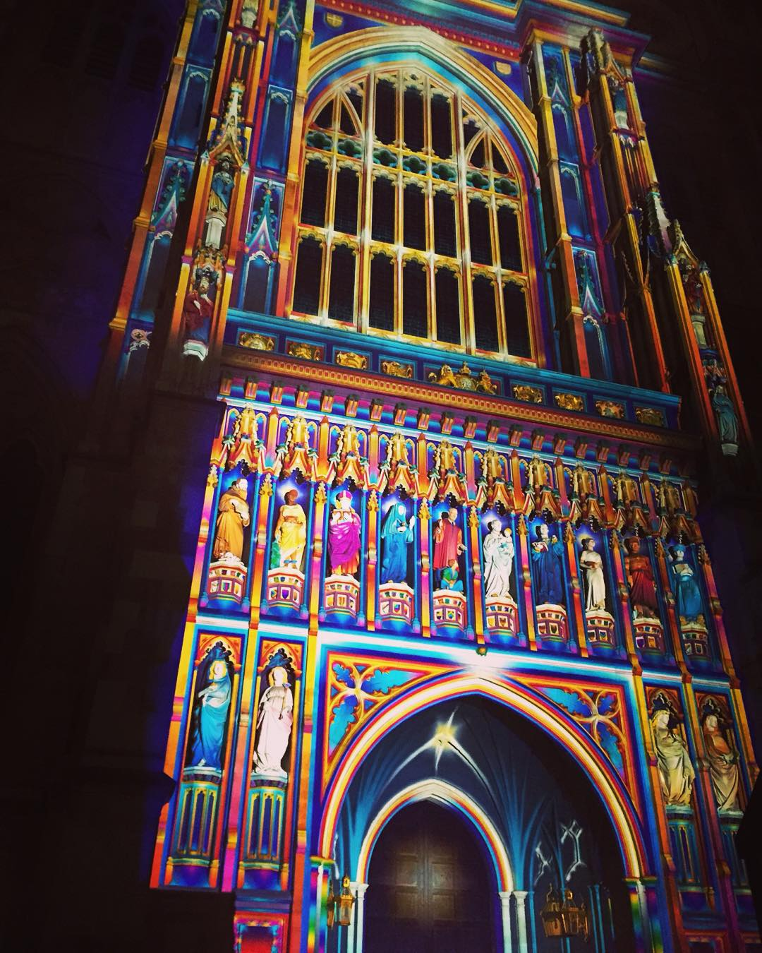 Lumiere London Westminster Abbey