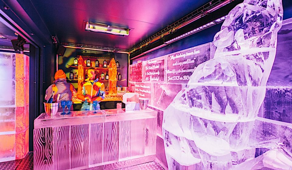 A New Ice Bar Has Come To The City In Case You Weren't Cold Enough Outside Already