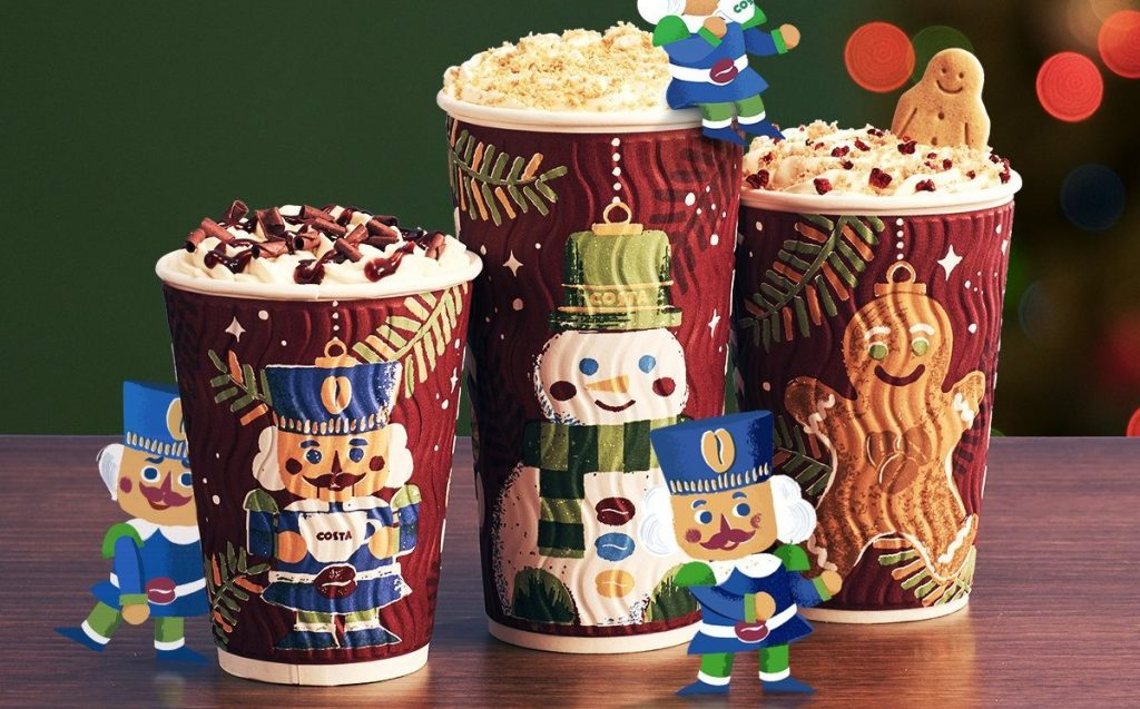 All Of The Christmas Coffees, Ranked From Worst To Best