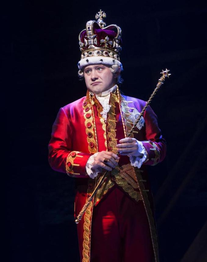 Hamilton London King George Cast Photo