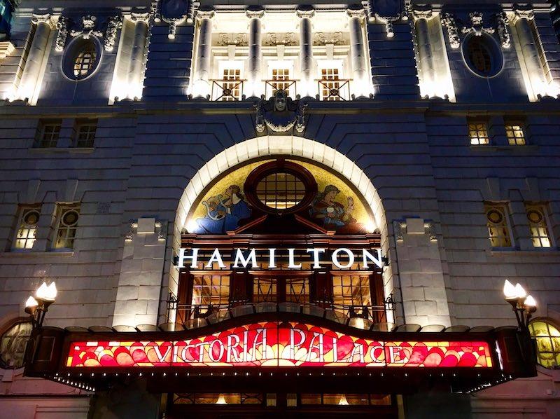 Hamilton London Victoria Palace Theatre
