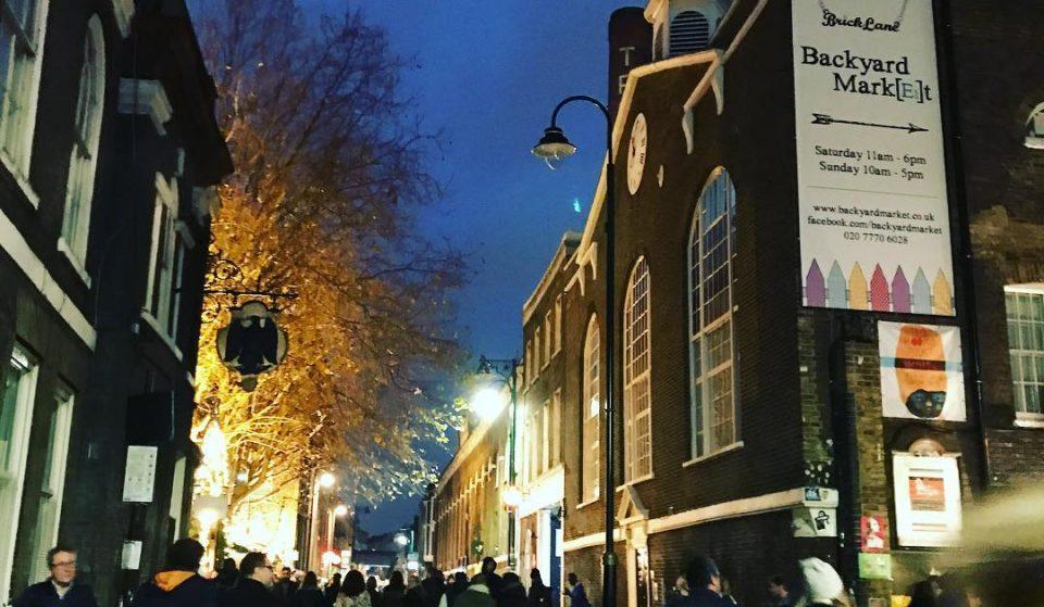 A Huge Winter Night Market Is Arriving On Brick Lane