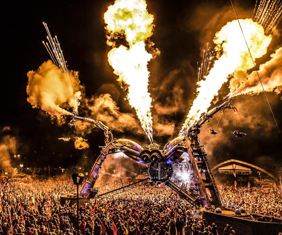 Arcadia London Spider Festival Leftfield