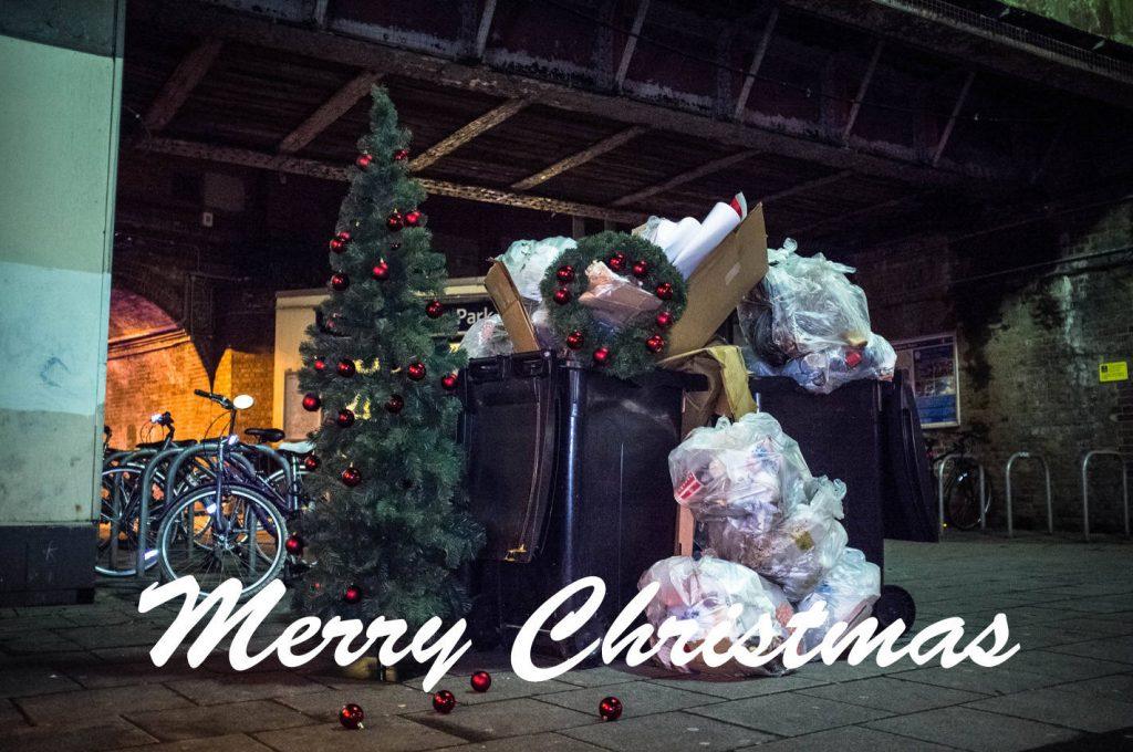 Depressing Christmas Card