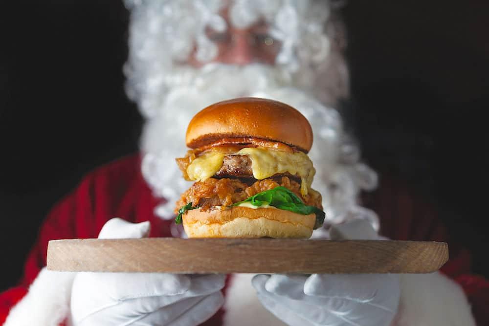 Hawksmoor Christmas Burger Recipe