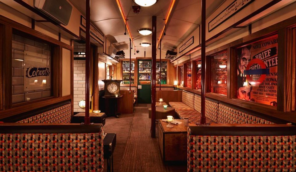 Take The Party Underground At London's 1940s Tube-Themed Bar • Cahoots