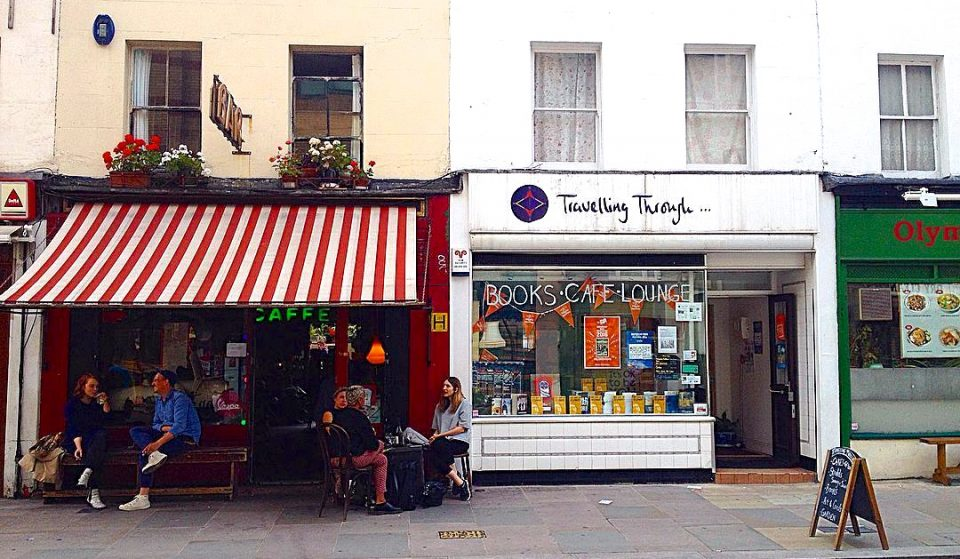 The Quirky Travel Bookshop With A Secret Café Serving Coffee And Cocktails