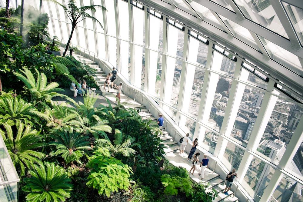 Sky Garden Viewing Gallery London