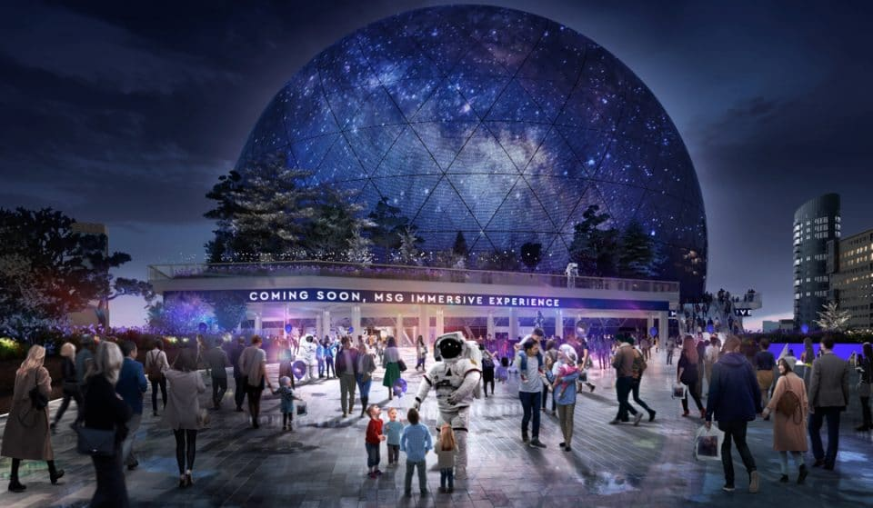 Take A Look At The New Designs For London's Proposed 'Crystal Ball' Arena