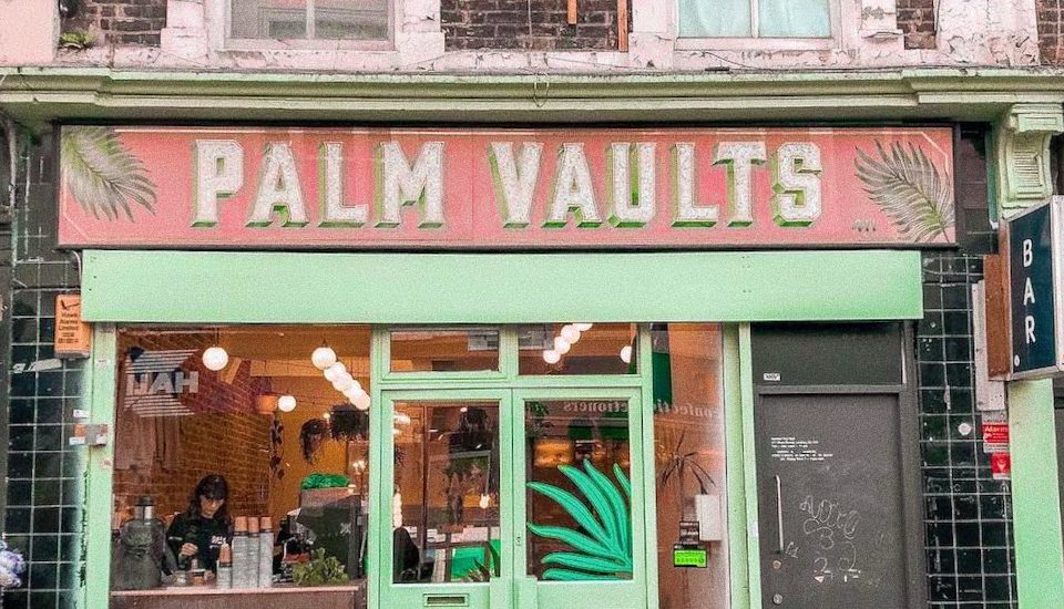 Have Your Cake (And Instagram It) At This Tropical Hackney Cafe • Palm Vaults