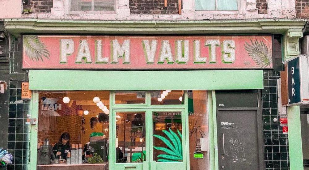 Palm Vaults Hackney Cafe