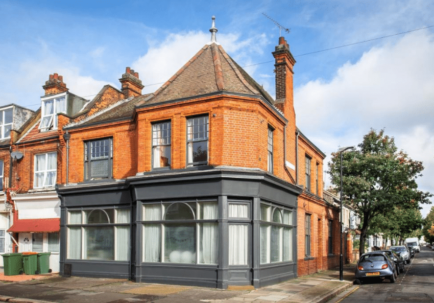 You Could Live In This Former East London Pub (Complete With Beer Garden)