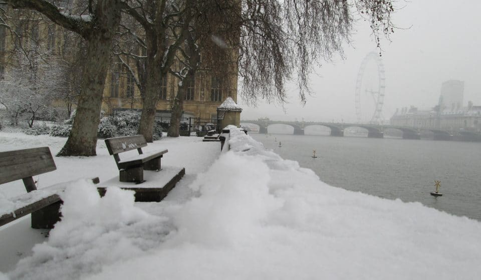 Met Office Issues Amber Alert For Snowfall In London This Tuesday