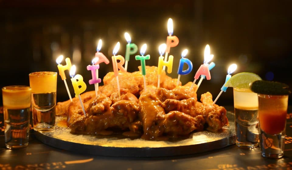 There's A Chicken Wing Birthday Cake For Your Junk Food Loving Friends