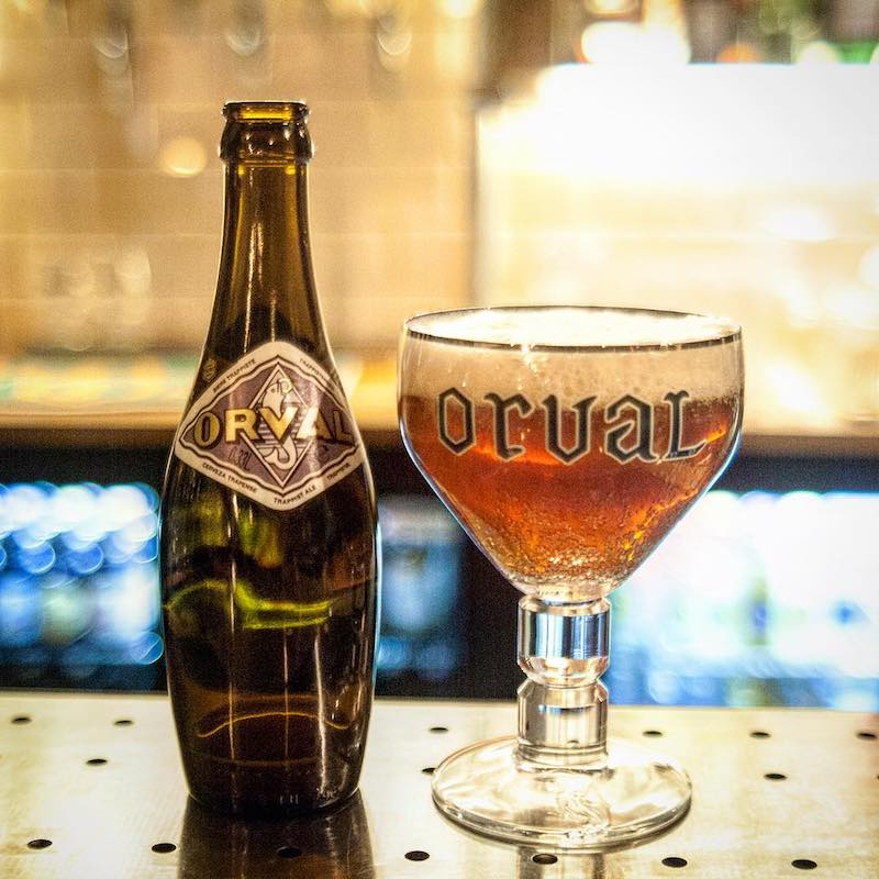 Photo of beer bottle and glass