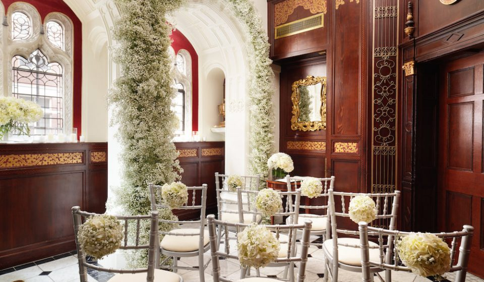 London's Eight-Person Wedding Venue Is Perfect For Antisocial Couples