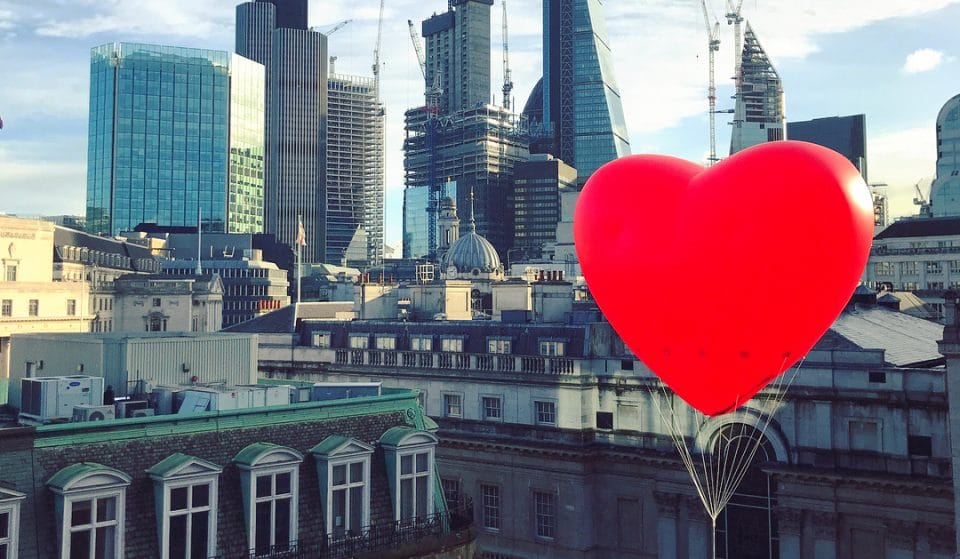 Giant Love Hearts Are Appearing All Over London