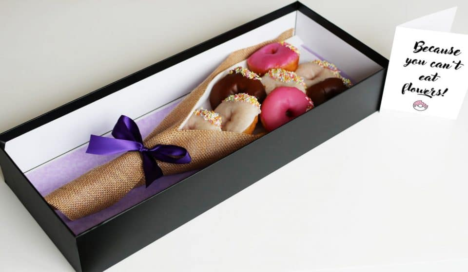 Donut Bouquets Are The Latest Way To Spoil Your Sweetheart