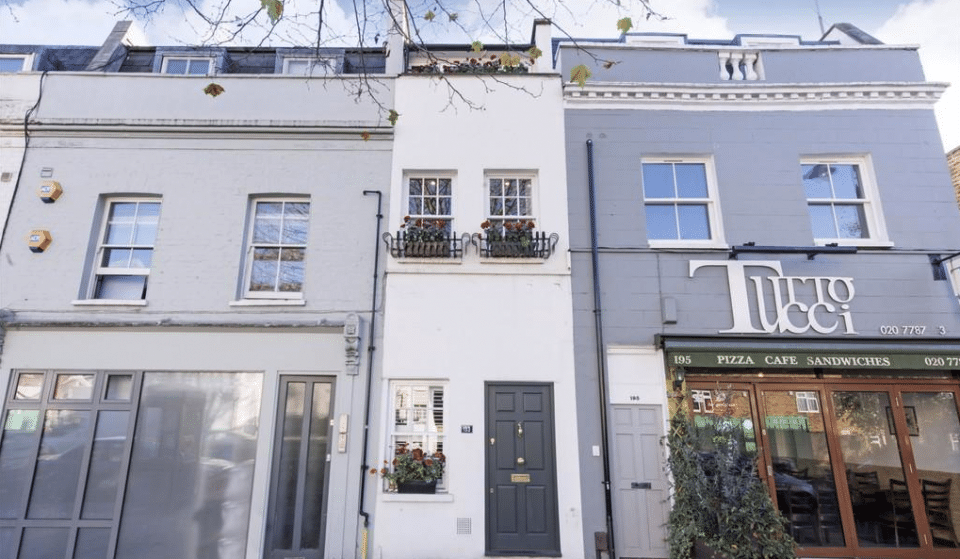 This Skinny London House Is On Sale For Almost £1m (And I Really Want It)