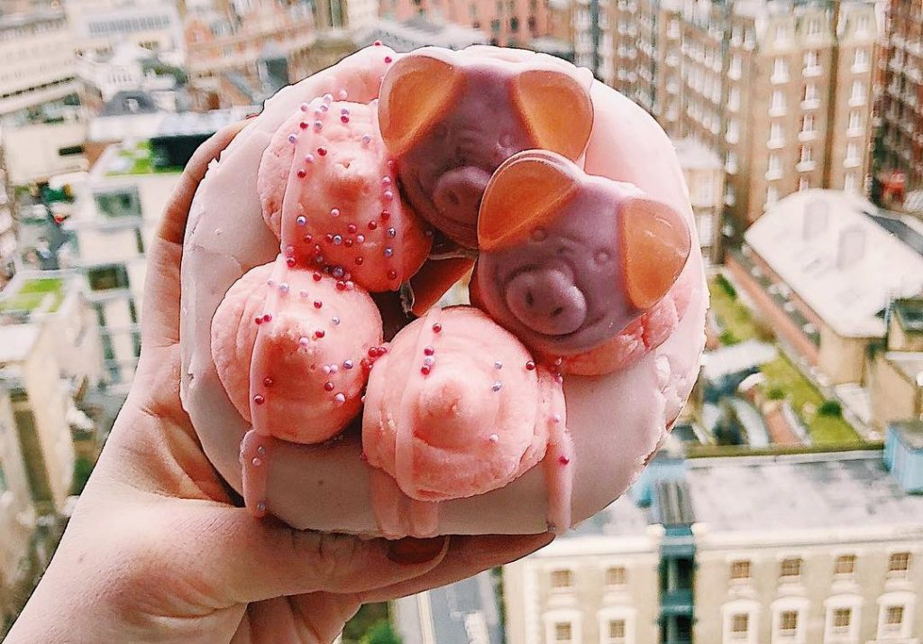 Percy Pig Doughnuts Are A Thing And They Look Sweeeeeet