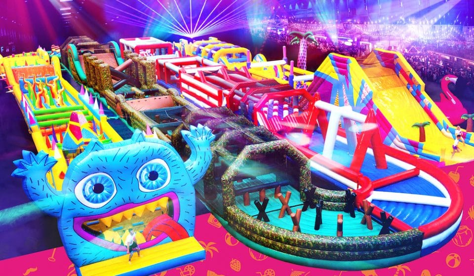 A Giant Inflatable Obstacle Course Is Coming To Ally Pally This Summer