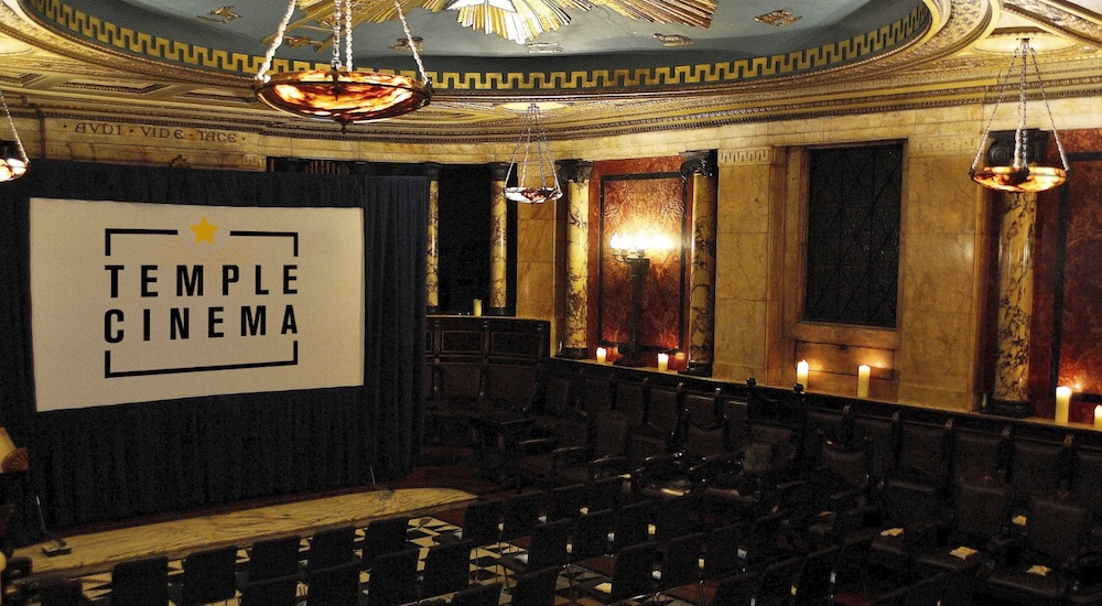 This Hidden Masonic Temple Is Screening Spooky Horror Films Throughout 2019