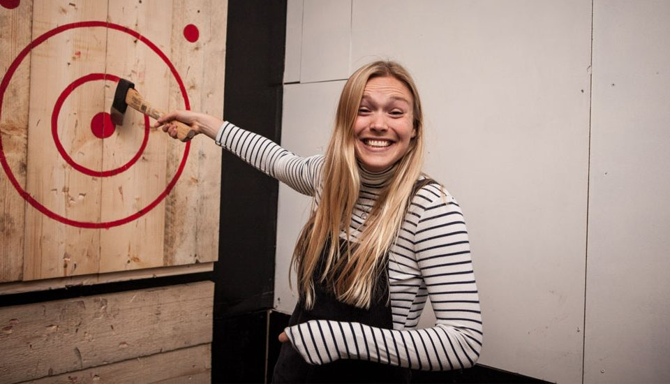 Axe Throwing Is The Ultimate Night Out For Stressed Out Londoners • Whistle Punks