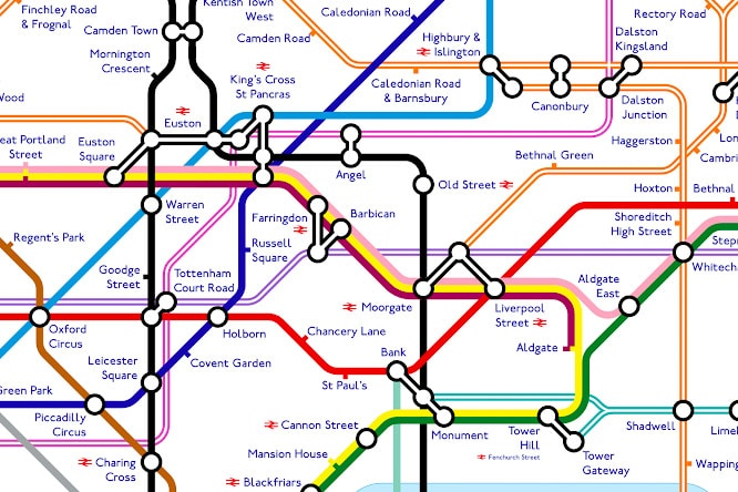 The Tube Map In 2040 Is Going To Be Pretty Intense Secret London