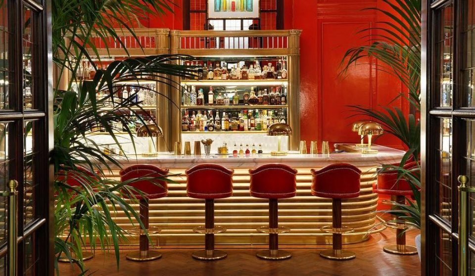 This Ravishingly Red Bar Is A Hot Spot For A Cocktail • The Coral Room