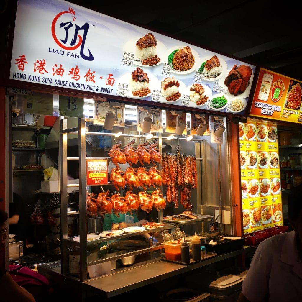 Michelin star street food