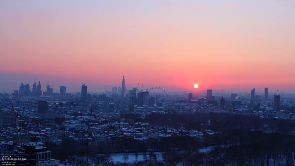 This Beautiful Time-Lapse Shows London Waking Up To A Blanket Of Snow