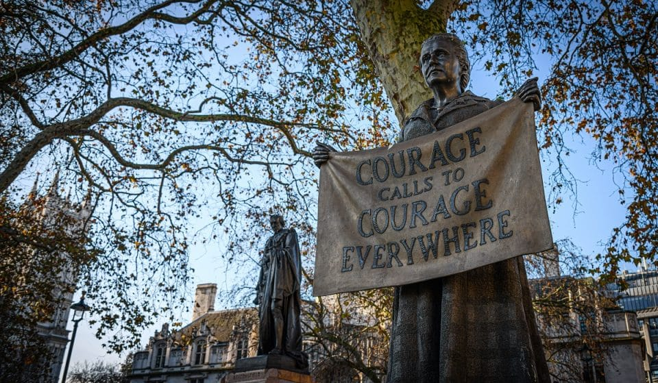 Parliament Square Has Just One Statue Honouring A Woman