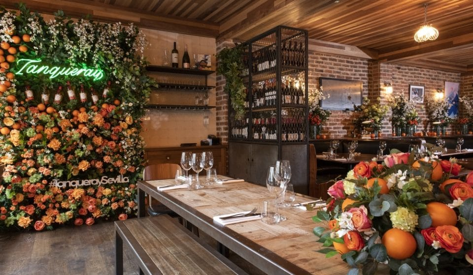 This London Restaurant Has Been Transformed Into A Beautiful Orange Grove