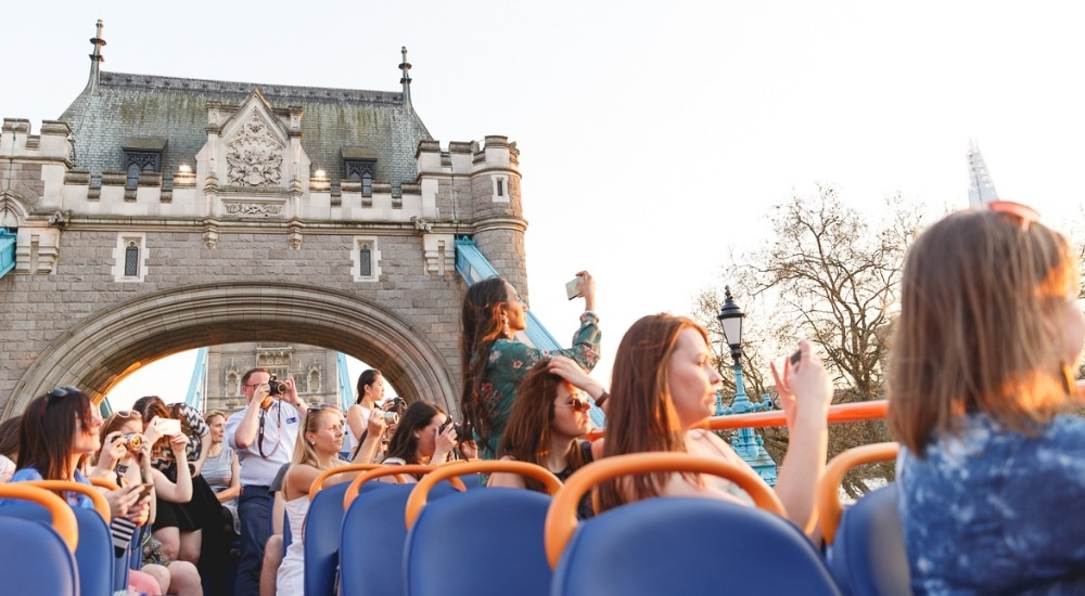 This Open-Top Bus Tour Will Show You London's Best Sights For Just £1 • MegaSightseeing