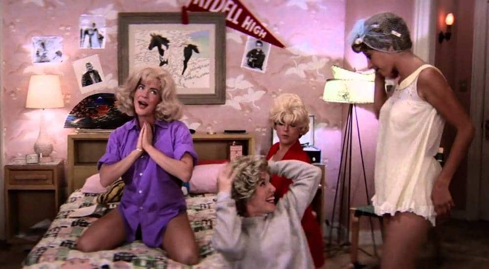 Grease sleepover party