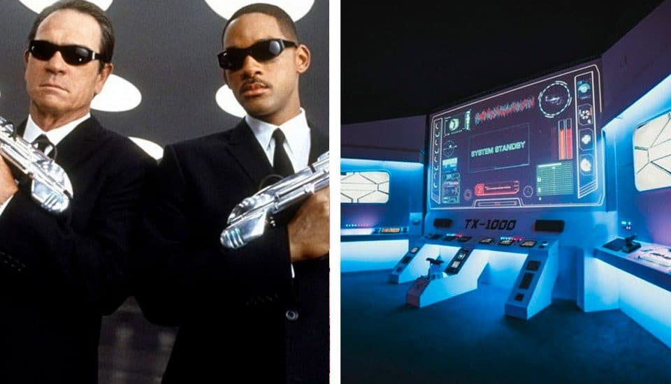 Watch 90s Classic 'Men In Black' Aboard An Earthbound Spaceship