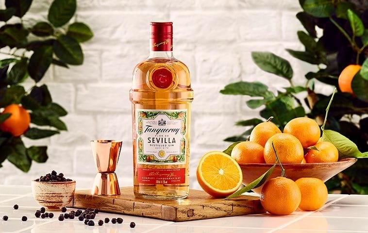 Tanqueray's New Seville-Inspired Gin Is Kicking Off The Summer In Style