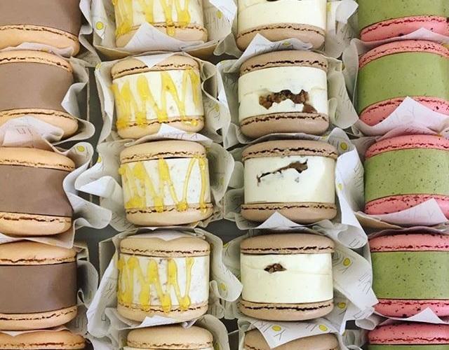 The Chinatown Bakery With Macaron Ice Cream Sandwiches • Yolkin