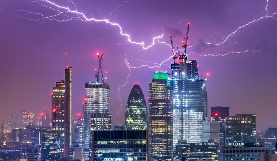 Thunderstorm Warnings Have Been Issued For London This Week